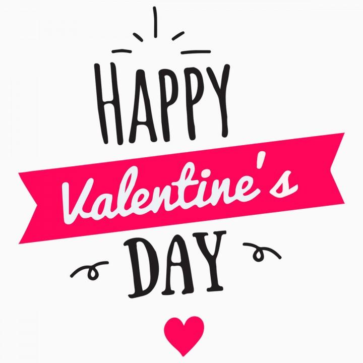 Motiv Happy Valentines Day