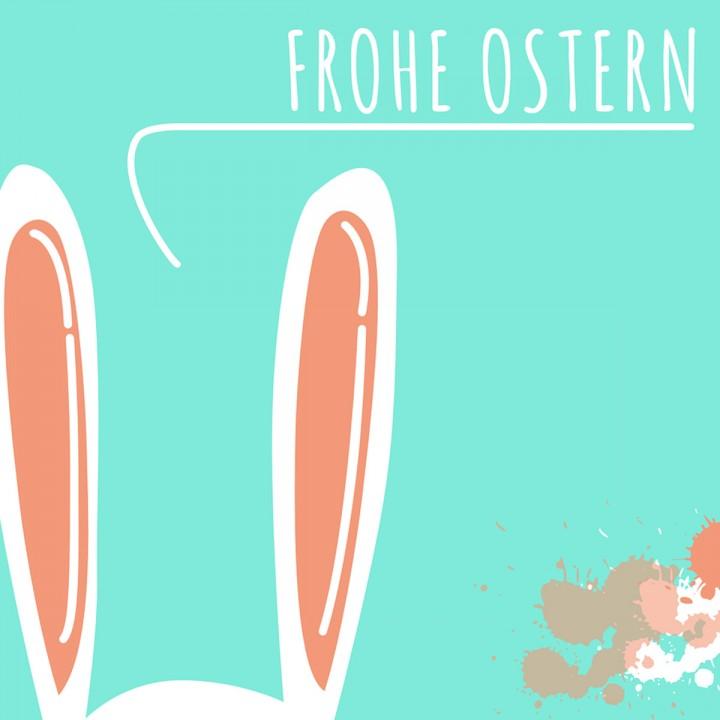Motiv Frohe Ostern
