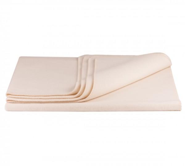 Weiße Kuscheldecke 150 x 200