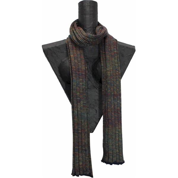Weicher Schal mit buntem Farbverlauf