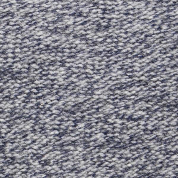 Wollpullover mit gerolltem Rundhals-Ausschnitt